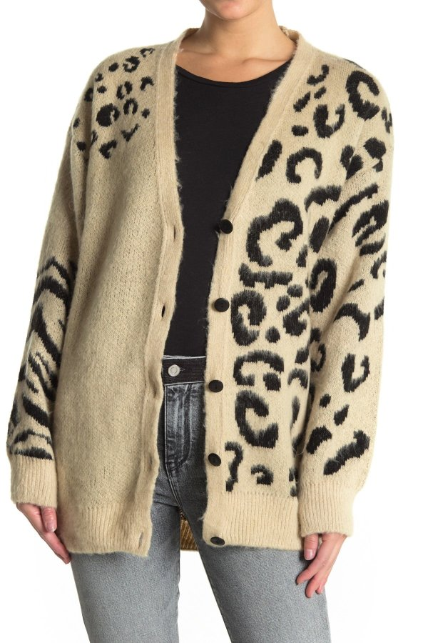 Leopard Printed 外套