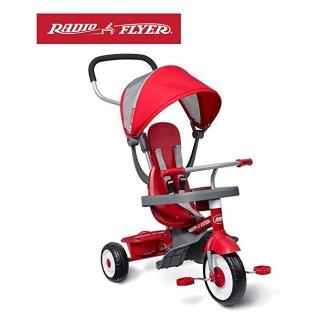 $75.99Radio Flyer 4-合-1 儿童玩具骑行三轮车