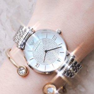 变相4.7折起 €175收满天星Emporio Armani 精选手表包包热卖 收满天星、白贝母腕表