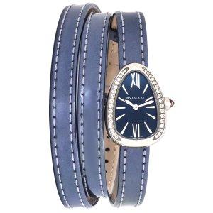 BvlgariSerpenti Steel Diamond Quartz Ladies Watch SPS27C3SDL-4T