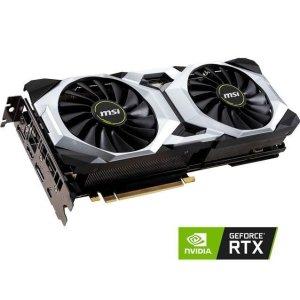 $1129.99 (原价$1199.99)MSI GeForce RTX 2080 Ti VENTUS 11G OC显卡