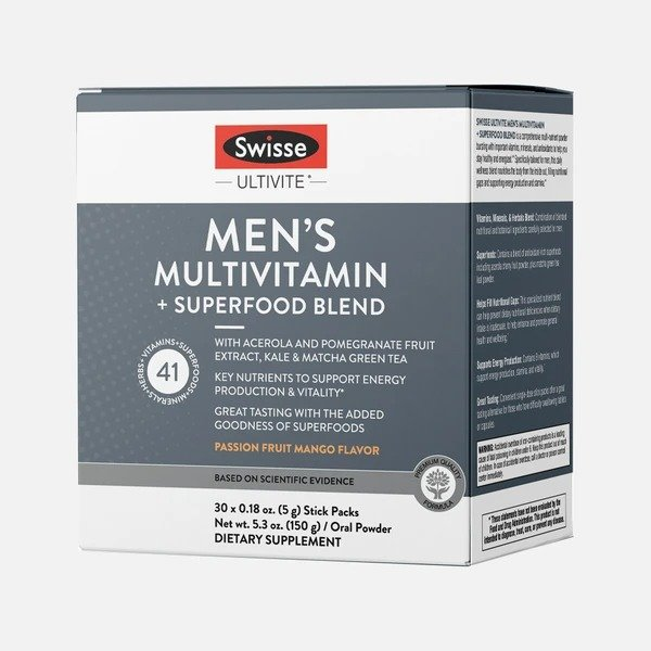 男士综合维生素+草本果蔬精冲剂