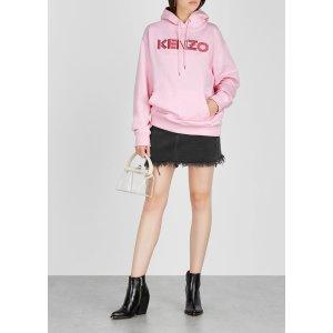 Kenzo美国定价$395粉色帽衫