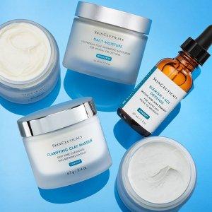 送2件好礼 任意单免邮独家:Skinceuticals 修丽可医美护肤 祛痘印色修精华、抗糖化面霜
