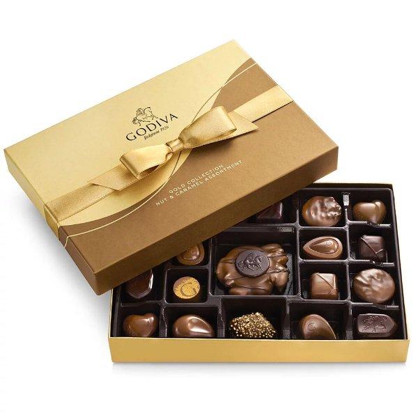 焦糖坚果巧克力礼盒19颗