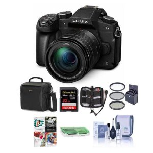 Panasonic Lumix DMC-G85 + 12-60mm OIS Lens + Free Accessories