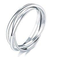 BORUO 925 纯银戒指