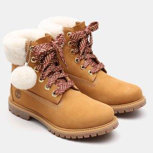 Timberland 反季收美靴 小雪球可可爱爱 甜度爆表