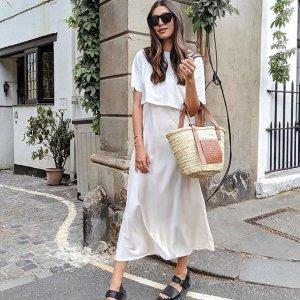 5折起 基础款连衣裙£39收AllSaints 夏日大促裙子专区上线 酷酷女孩也温柔