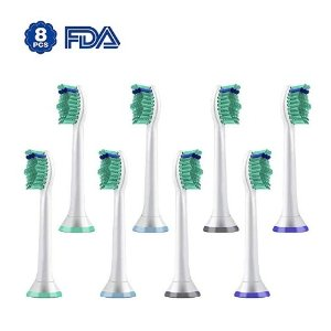 $9.45Replacement Toothbrush Heads for Philips Sonicare e-Series HX-Series, Fits Sonicare Advance, Elite, Essence, Xtreme and More Snap-On Brush Handles, 8 Pack
