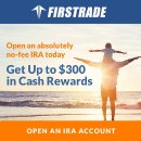 $50 cash back Firstrade IRA Account Cash Promotion