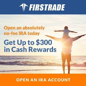 $50 cash backFirstrade IRA Account Cash Promotion