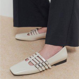 5折起 £19起就收Charles & Keith 玛丽珍鞋专场夏促 精致优雅大牌平替