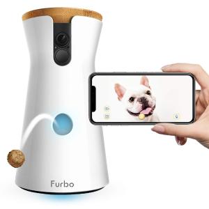 $199(原价$299)+免邮Furbo 全高清 Wifi 宠物监控摄相机 远程投食机