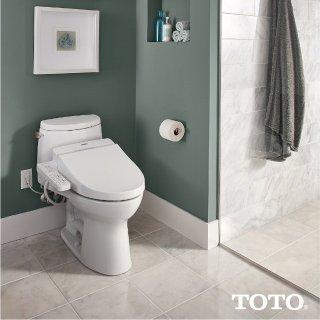 $276.95TOTO SW2034#01 C100 WASHLET Electronic Bidet Toilet Seat, Elongated, Cotton White