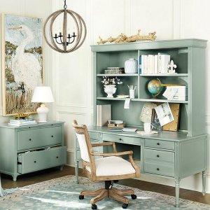 低至8折Ballard Designs 官网精选办公家具家饰热卖 收品质实木书桌
