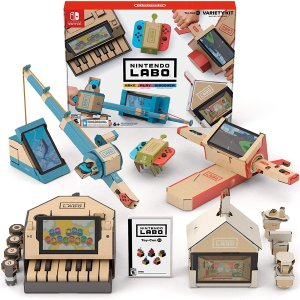 $34.84 好玩or吃灰?Nintendo Switch Labo Variety Kit 套装