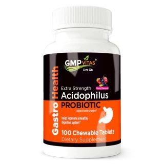 15% OffGMP Vitas Extra Strength Probiotic Acidophilus 100 Chewable Tablets