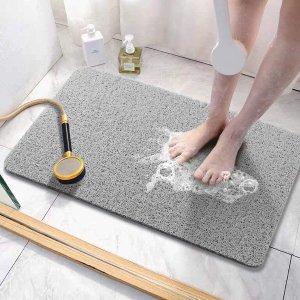 Asvin Soft Textured Bath, Shower, Tub Mat, 24x16 Inch
