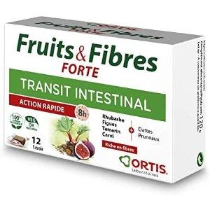 ORTIS8.1折,12颗装,富含纤维水果瘦咀嚼膏