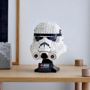 低至7.7折 €44.99起史低价:LEGO 星战系列 星战粉不能错过的两款头盔 自带铭牌和支架