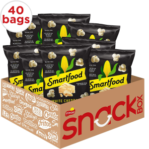 $11.18Smartfood White Cheddar Flavored Popcorn, 0.625 Ounce (Pack of 40)