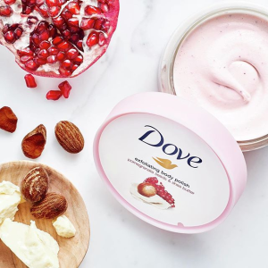 买1送1!磨砂膏£2.98!白菜价:Dove 网红冰淇淋磨砂膏!225ml沐浴£1!夏日预警!