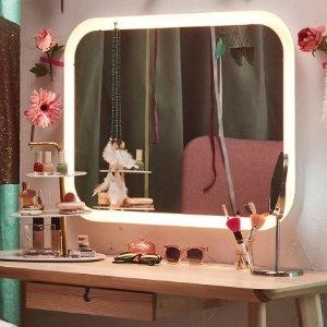 5.6折起 化妆镜$6.49最后一天:IKEA 全场镜子促销热卖  $9.8收仪容镜  $40收立式穿衣镜