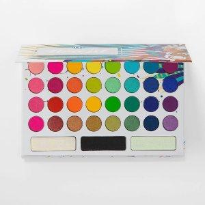 BH Cosmetics一共35个颜色带我回到巴西 眼影盘