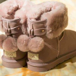 低至2.5折 囤鞋好时机!UGG 精选雪地靴、毛拖等热卖 冬天也要萌萌的