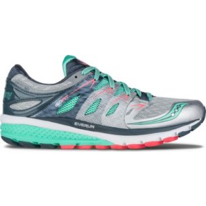 Zealot ISO 2 银色配薄荷绿跑鞋