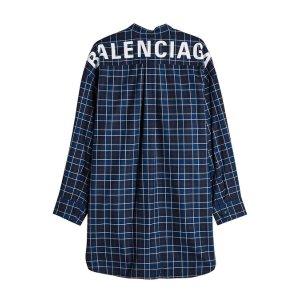 Balenciagalogo衬衫