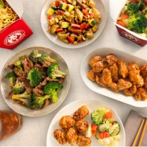 Up to $25 offPanda Express any Family Feast Meal
