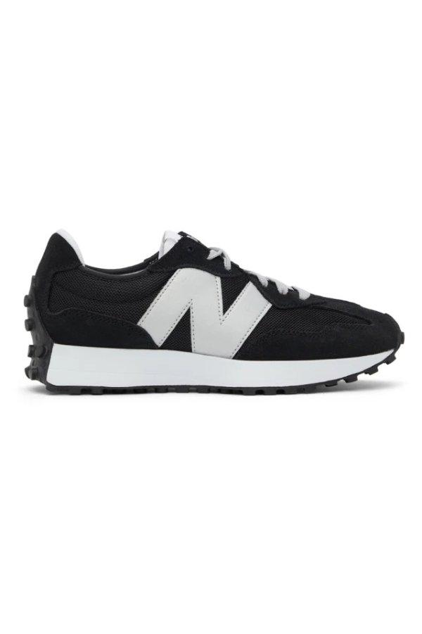 Black & Grey 327 慢跑鞋