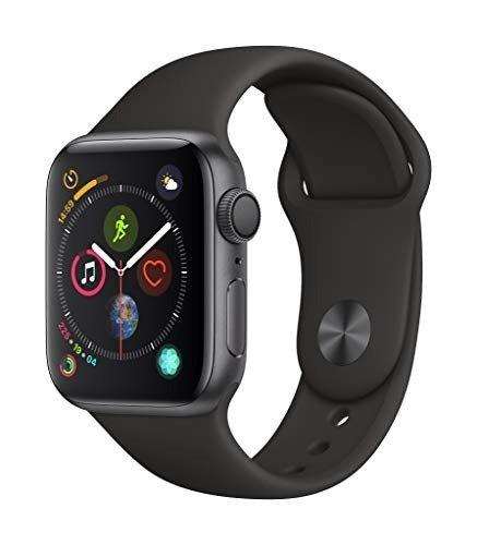 Watch Series4 (GPS, 40mm) 黑色运动型表带
