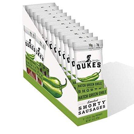 Duke's 青椒烟熏小香肠 1oz大包装 12包