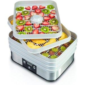 $59.99(原价$73.96)Hamilton-Beach 32100C 家用食物烘干脱水机/干果机