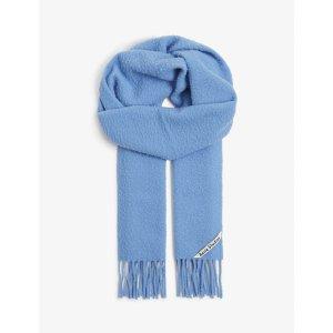 Acne Studios天蓝色羊毛围巾