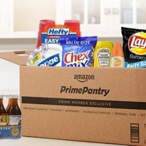 30天免费试用+满$10包邮Prime Pantry 新模式 会员每月购物一次就能赚回来
