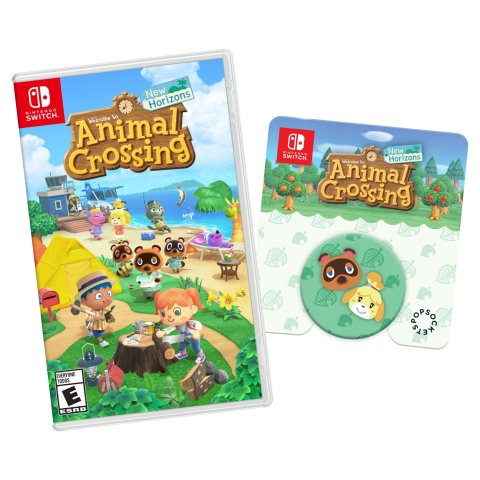 $59.99Animal Crossing: New Horizons + Walmart Exclusive Pop Socket
