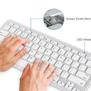低至6折 Mac、Iphone、Windows都可用JETech 无线键盘折扣热卖 多种系统兼容