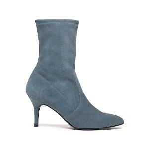 Stuart Weitzman封面款 雾霾蓝袜靴
