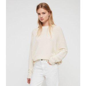 ALLSANTS白色针织上衣