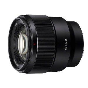 $249.99(原价$598) 包邮 疑似错价SONY 全画幅85mm f/1.8 E卡口 定焦镜头