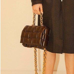 无门槛7.5折 $270收编织钱包上新:Bottega Veneta 专场特卖 封面款枕头包立省$1000