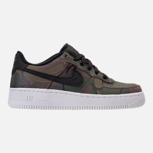 727d13bbd66f7b NikeBoys  Grade School Nike NBA Air Force 1 Low LV8 Casual Shoes