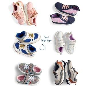 50% Off + Extra 20% OffOshKosh BGosh Shoes Doorbuster Sale