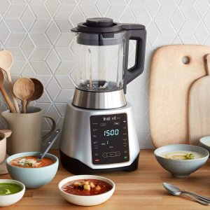 Instant Pot Ace Plus Ace Plus Cooking & Beverage Blender, 1.6 L, Silver