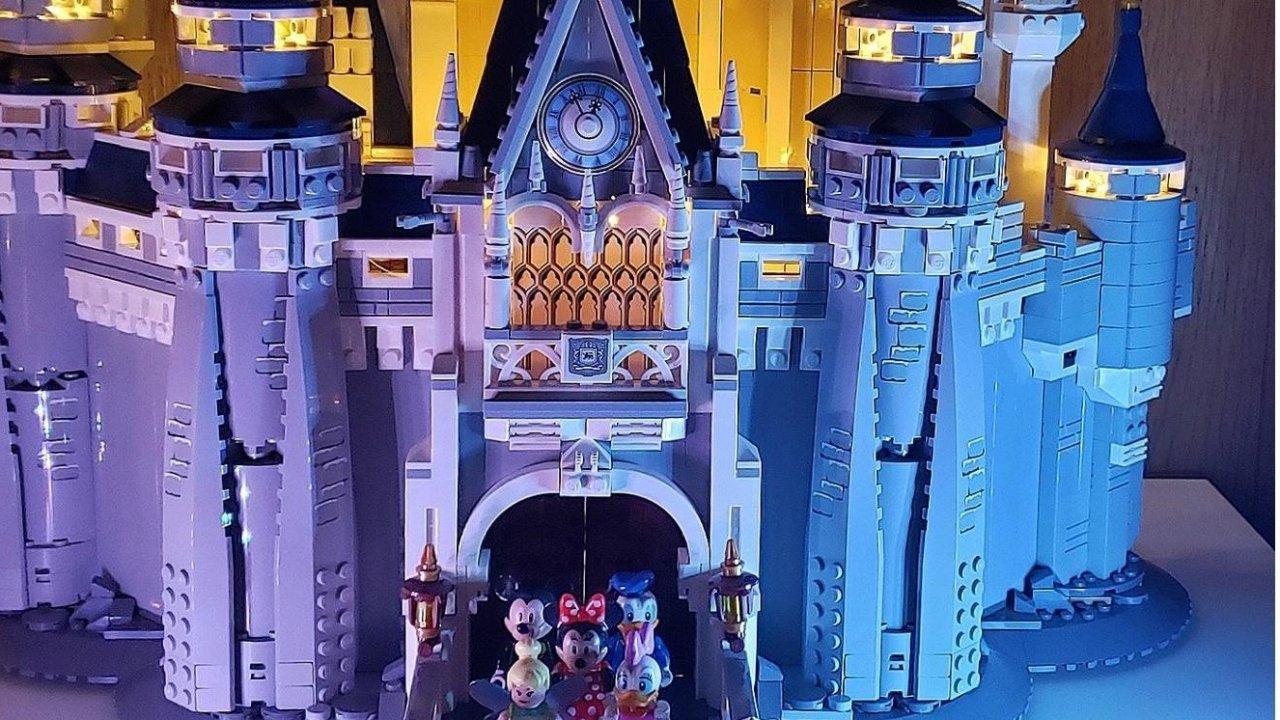乐高迪士尼城堡灯光秀 | DIY是一种态度