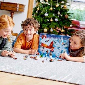$24.86起 节日送礼首选LEGO 2019新品 圣诞倒计时日历,共4种